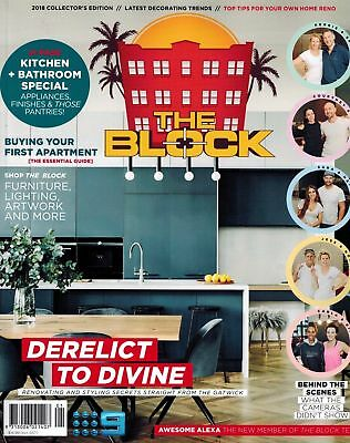 THE BLOCK MAGAZINE 2018 COLLECTORS EDITION, 21 Page Kitchen + Bathroom Special