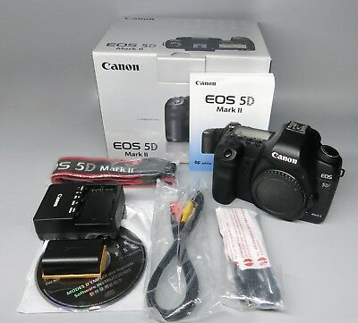 Canon EOS 5D Mark II 5D2 Mark2 21.1MP Full Frame DSLR Camera Body, Digital SLR