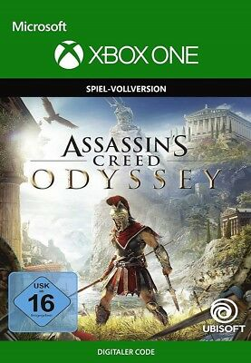 Xbox One - Assassin's Creed Odyssey Spiel Key Digital Download Code [DE] [EU]