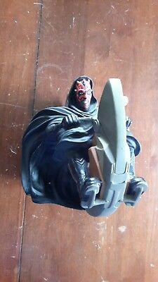 Star Wars Applause Darth Maul Sith Speeder Coin Money Piggy Bank 1999 Lucasfilm