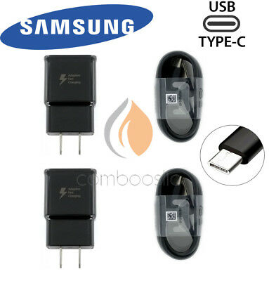 Samsung Adaptive Fast Travel Wall Charger for Galaxy S9 S8 Plus Note 8 and Cable