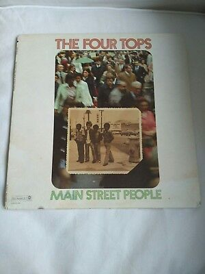 The Four Tops - Main Street People LP Dunhill Records 1973 vg+