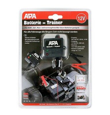 12V 500mA Battery Trainer Car Van Motorcycle Motorhome /1411