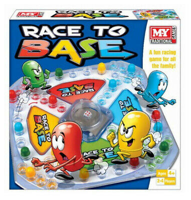 Race To Base Pop A Dice Frustration Family Fun Kid My Board Game New Traditional