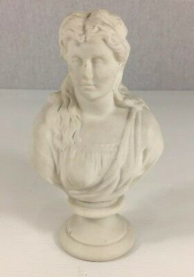 Parian Bust Of Princess Beatrice By J&TB. 17cm In Height