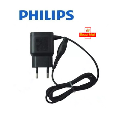 Genuine 2 Pin Philips Shaver Power Lead Charger Cable HQ8505 UK Stock