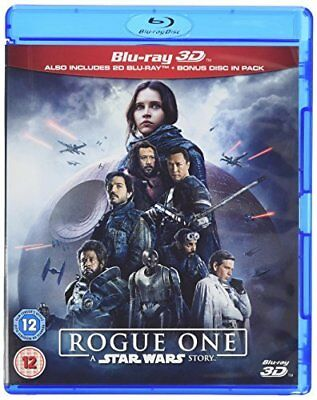 Rogue One A Star Wars Story [Blu-ray 3D] [2017] [Region Free]