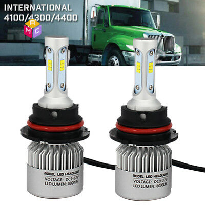 2X9007 LED Headlight Bulb Kit for INTERNATIONAL TRUCK 4300 4400 SERIES 2003-2012