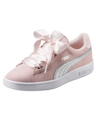 PUMA SMASH V2 ribbon JR rosa - EUR 52 c7f9f8212df