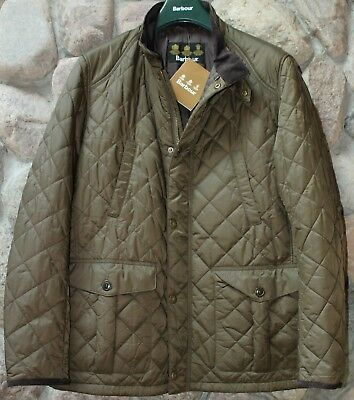 Barbour Jacket Coat Tiller Quilted Olive Green MQU0776OL71 New Extra Large XL