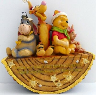 original Disney * Lighted Woodland - Rocking Winnie the Pooh and Friends  2007 *