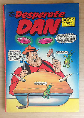 "The Desperate Dan Book ""From the Dandy"" 1992 Hardback Annual - Great Condition"
