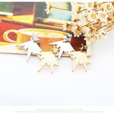 Women Earrings Punk Stud Fashion Sparkling Firework Star Piercing Earring LIN