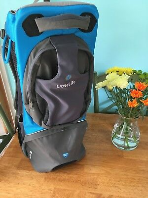 Littlelife Freedom Baby/ Child Backpack Carrier VGC