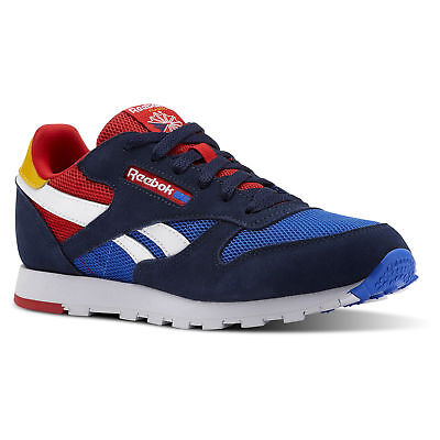 Reebok Kids' Classic Leather Color Block - Grade School Shoes