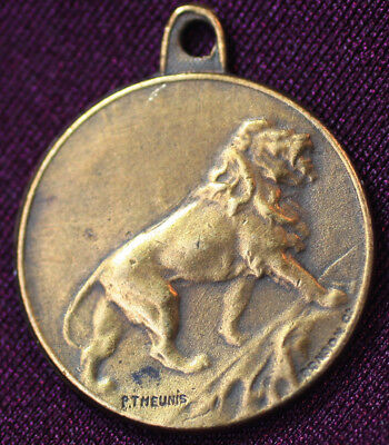 1915 Dutch Veterans of WW1 Great War Tribute to Disabled Soldiers Medal