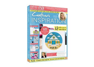 Crafters Companion : CRAFTER'S INSPIRATION #19 + £50 FREE GIFTS - NEW & UNOPENED