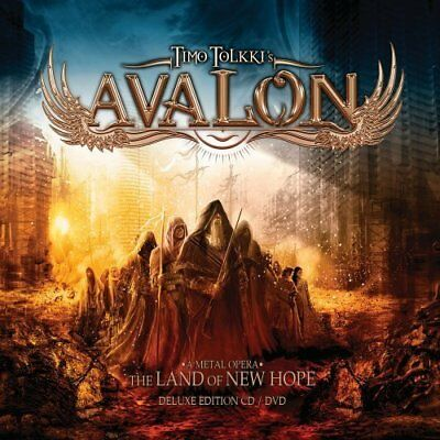 Timo Tolkkis Avalon-Land Of New Hope CD NUOVO
