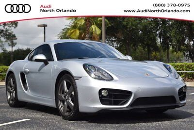 2016 Cayman -- 2016 Porsche Cayman, Silver with 9,150 Miles available now!