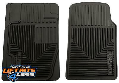 Husky liner 51111 Black HD Front Floor Mats for 80-11 Acura CL/Tacoma 2/4WD