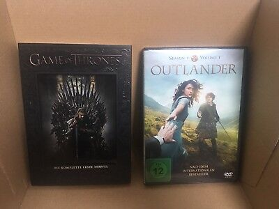 Game of Thrones Staffel 1 +Outlander  season 1 Volume 1 Paket