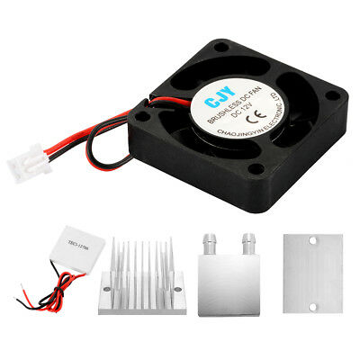 Heat Sink Thermoelectric Peltier Cooler Plate Conduction Module DIY Kit TE954