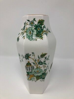 "Crown Staffordshire 6"" 'Kowloon' Vase"