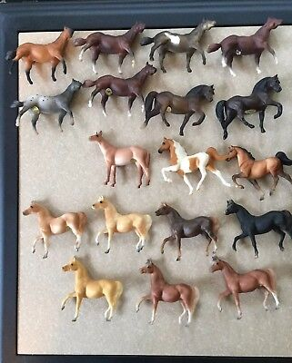 Large Lot Of 18 Vintage Breyer Stablemates (G1)- Includes Many Special Runs