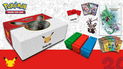 Pokemon MEW & MEWTWO 20th Anniversary Super Premium Collection Box Generations