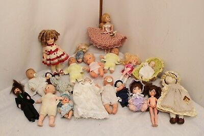 Lot of 19 dolls Mixed variety Louis Galoob & Shirley Temple included