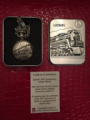 Lionel 100 year Anniversary Commemorative Pocket Watch