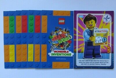Sainsburys LEGO Incredible Inventions Single Cards 2018 (Select your choice)