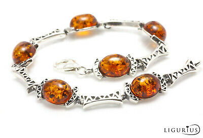 Amber Jewellery Necklace Pendant Bangle Belly Bar