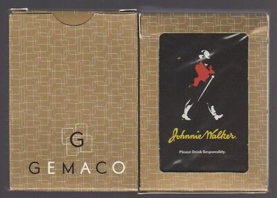 Gemaco Johnnie Walker Collectible / Advertising Playing Cards Rare Brand New