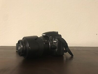 Nikon D D3100 14.2MP Digital SLR Camera - Black (Kit w/ AF-S DX VR 55-200mm Lens