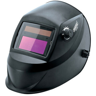 Draper DRAPER_12034 Solar Powered Auto-Varioshade Welding Helmet FREE POST