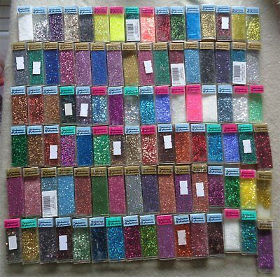 SALE Bulk Craft Glitters Dust Powder Body Nail Art Craft Scrapbook Card Making