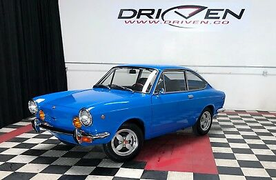 1969 Fiat 850 Sport Coupe Gorgeous 69 850 Sport Coupe 1 Owner California Blue Plate VIDEO! 3.09% financing
