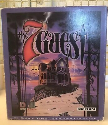 the 7th Guest Complete in Big Box PC with manual, inserts & VHS