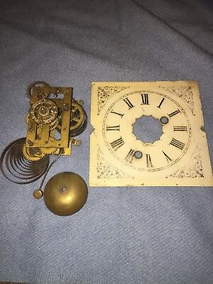 Antique-Ansonia-Clock Movement To Restore