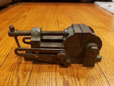 Vintage machinists palmgren tilting drill press vice