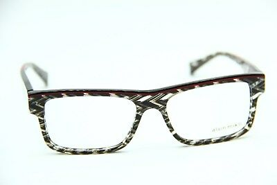 9dd34da79378 New Alain Mikli A03047 E007 Black crystal Authentic Eyeglasses Frames 54-16- 145