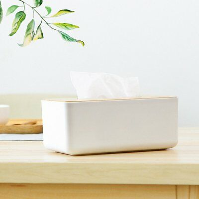 Tissue Box Home Car Container Decoration For Removable Tissue Rectangle Shape WU