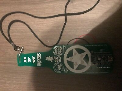 Defcon 26 DFW Hackers Badge