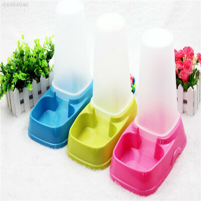 0C4F 2C94 Hot New Durable Pet Dog Cat Automatic Water Dispenser Food Bowl Feeder