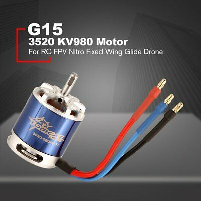 TomCat 3520 KV980 7T Motor with Skyload 50A ESC for RC Fixed Wing Drone MS