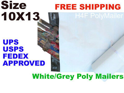 200 10x13 Poly Mailers Shipping Envelopes Self Sealing Mailing Bags