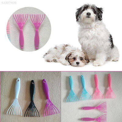 65E9 Pet Grooming Brush Comb Rake Clean Cleaning Cleaner Garden House Random Col