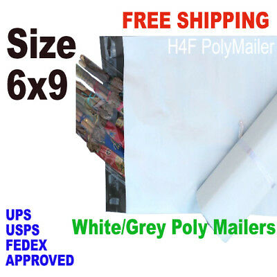 6X9 Poly Mailers Self Sealing Mailing Bags Shipping Envelops pick your quantiry