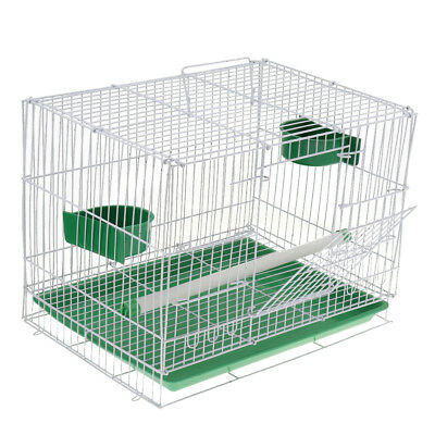 Foldable Large Metal Canary Parakeet Cockatiel Lovebird Finch Bird Cage